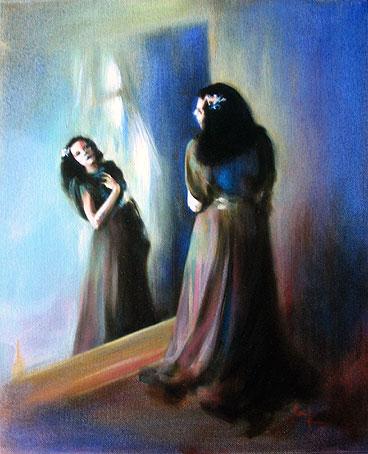 The Mirror -2008-40x36cm Artist Sini sini6630@gmail.com