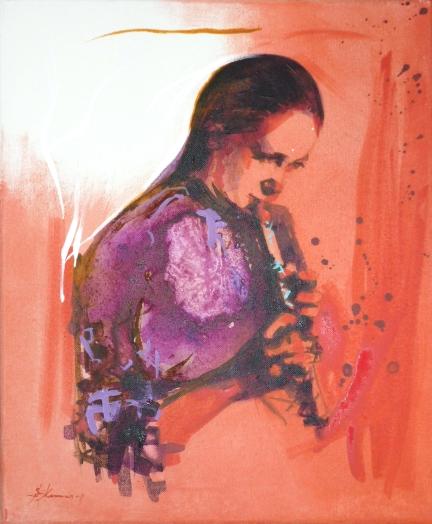 The Sad Little Flute 45x37cm KUNNAS 2011